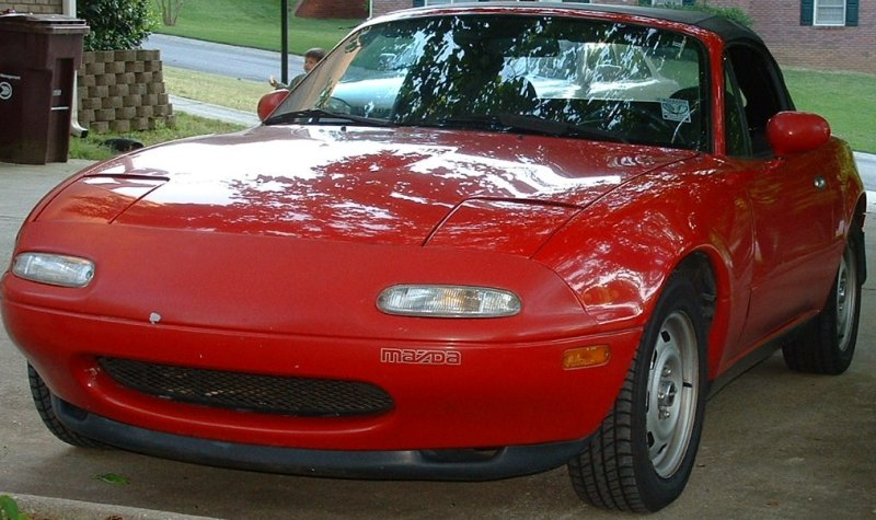 Why are some NA headlights recessed? - MX-5 Miata Forum