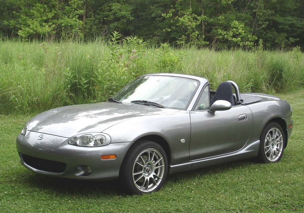 titanium gray 2003 shinsen version titanium gray o z wheels mazda miata mx 5 picture gallery. Black Bedroom Furniture Sets. Home Design Ideas